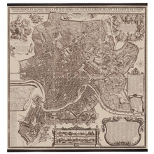 Giclée Wall Map Rome from 1676 MC808