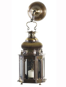 Authentic Models SL047 Venetian Lantern Bronze Finish Side