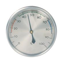 Hokco Analog Hygrometer Brushed Aluminum