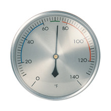 Hokco Analog Thermometer Brushed Aluminum