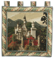 Tapestry Neuschwanstein Castle