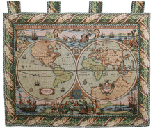 Tapestry Map of the World