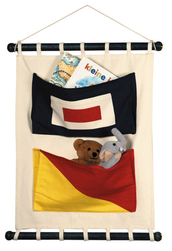 Canvas Flag Wall Pockets CC002 by Authentic_Models