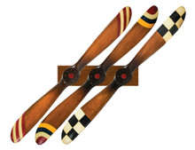 Authentic Models Barnstormer Propeller and Display Rack Set