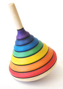 Spinning Top Rainbow