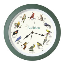 Audubon™ Singing Bird Clock 13 inch