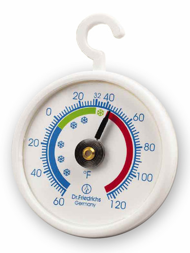 Hanging Refrigerator Freezer Cooler Thermometer Round Hokco
