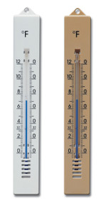 Analog Wall Thermometer Plastic 2 Finishes Hokco