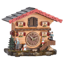 Heidi Farmhouse Cuckoo Clock  with Cuckoo and Music