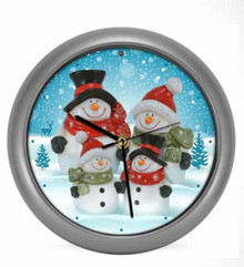 Mark Feldstein Snow Family Generation II 8 inch Sound Clock