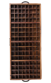 Authentic Models WD019 Wooden Spice Tray