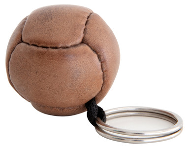 Authentic Models HA027 Keychain Leather Soccer Ball