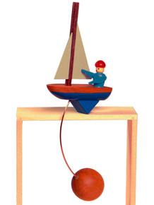 Sailing Ship Wood Balance Toy