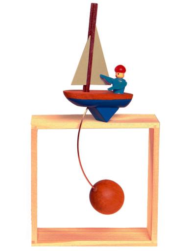 Sailing Ship Wood Balance Toy Full