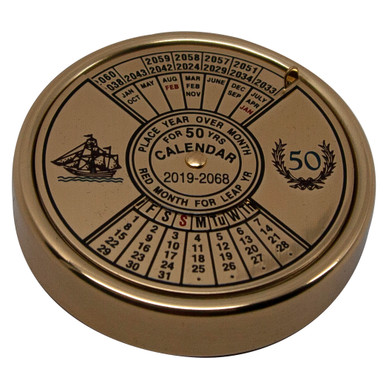 Authentic Models BC002 50 Year Calendar