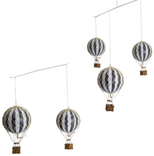 Authentic Models AP133 Flying the Skies Balloon Mobile in Black White Colors