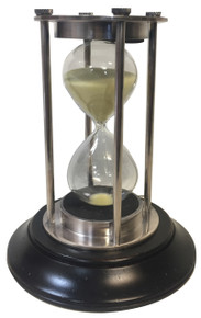 Authentic Models HG007S Silver 30 Minute Hourglass