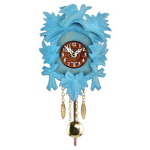 Design Cuckoo Clock, blue