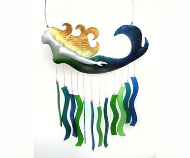 Gift Essentials Blue Handworks Mermaid Chime Mobile