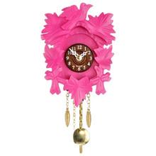 Design Cuckoo Clock, pink