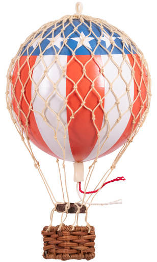Authentic Models AP160US Floating The Skies Red White Blue Balloon