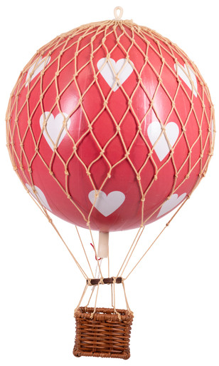 Authentic Models AP160RH Floating The Skies Red Hearts Valentines Day