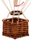 Authentic Models AP160RH Floating The Skies Red Hearts Valentines Day Basket