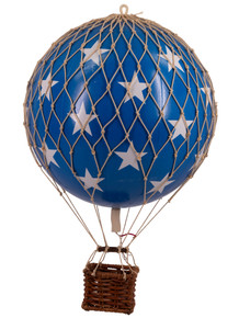 Authentic Models AP160BS Floating The Skies Blue Stars Balloon