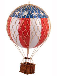 Authentic Models AP161US Travels Light Helium Balloon US Flag