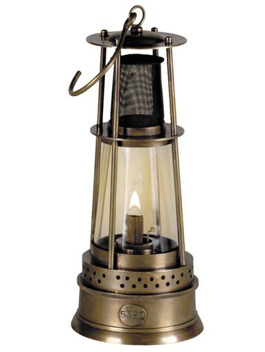 Authentic Models SL109 Bronze Miner's Lamp