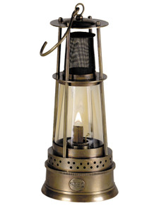 Authentic Models SL109 Bronze Miner's Lamp
