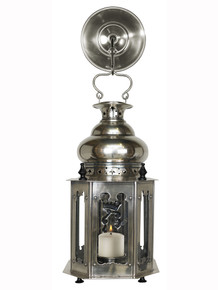 Authentic Models SL047A Venetian Lantern, Antique Silver