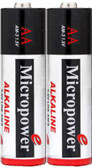 6201 - Micropower AA Alkaline Battery 2 Pack
