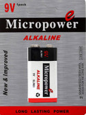 6204 - Micropower 9 Volt Alkaline Battery