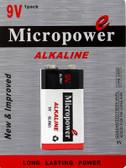 6204 - Micropower 9 Volt Alkaline Battery