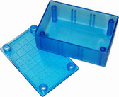 12515 - UB5 - TRANSLUCENT BLUE - 83mm x 54mm x 31mm Jiffy Box