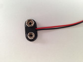 6309 - 9 Volt Battery Snap Hard plastic