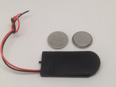 6335 - Coin Cell Battery holder X 2 with switch