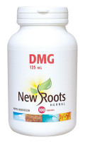 New Roots DMG 125 mg, 100 Capsules | NutriFarm.ca