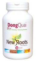 New Roots Dong Quai 500 mg, 100 Capsules | NutriFarm.ca