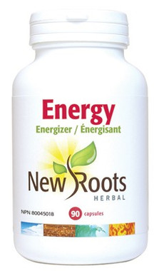 New Roots Energy, 90 Capsules | NutriFarm.ca