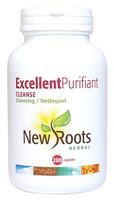 New Roots Excellent Purifiant Cleanse, 200 Capsules | NutriFarm.ca