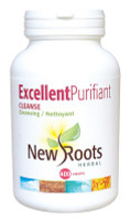 New Roots Excellent Purifiant Cleanse, 400 Capsules | NutriFarm.ca