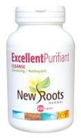 New Roots Excellent Purifiant Cleanse, 400 Capsules | NutriFarm.ca