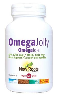 New Roots Omega Jolly, 60 Softgels   NutriFarm.ca