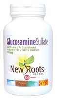 New Roots Glucosamine Sulfate 750 mg, 120 Capsules | NutriFarm.ca