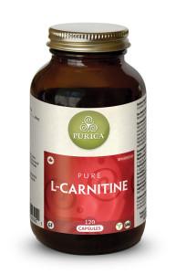 Purica L-Carnitine, 120 Veg Caps | NutriFarm.ca