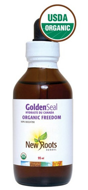 New Roots Golden Seal (Certified Organic), 95 ml | NutriFarm.ca