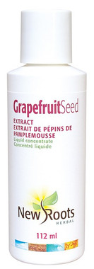 New Roots Grapefruit Seed Extract (Liquid Concentrate), 112 ml | NutriFarm.ca