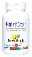 New Roots Hair & Scalp, 60 Softgels | NutriFarm.ca
